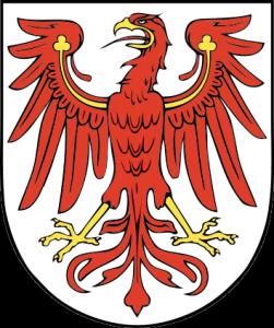 Steige hoch, du roter Adler, Hoch über Sumpf und Sand, Hoch über dunkle Kiefernwälder, Heil dir mein Brandenburger Land. (Quelle: Wikipedia)