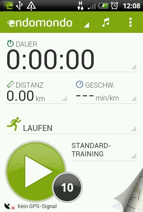 Sport Tracking mit Endomondo
