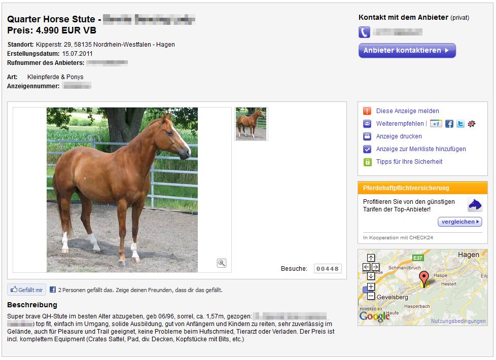 Nepper, Schlepper, Bauernfänger: Pferd gratis!