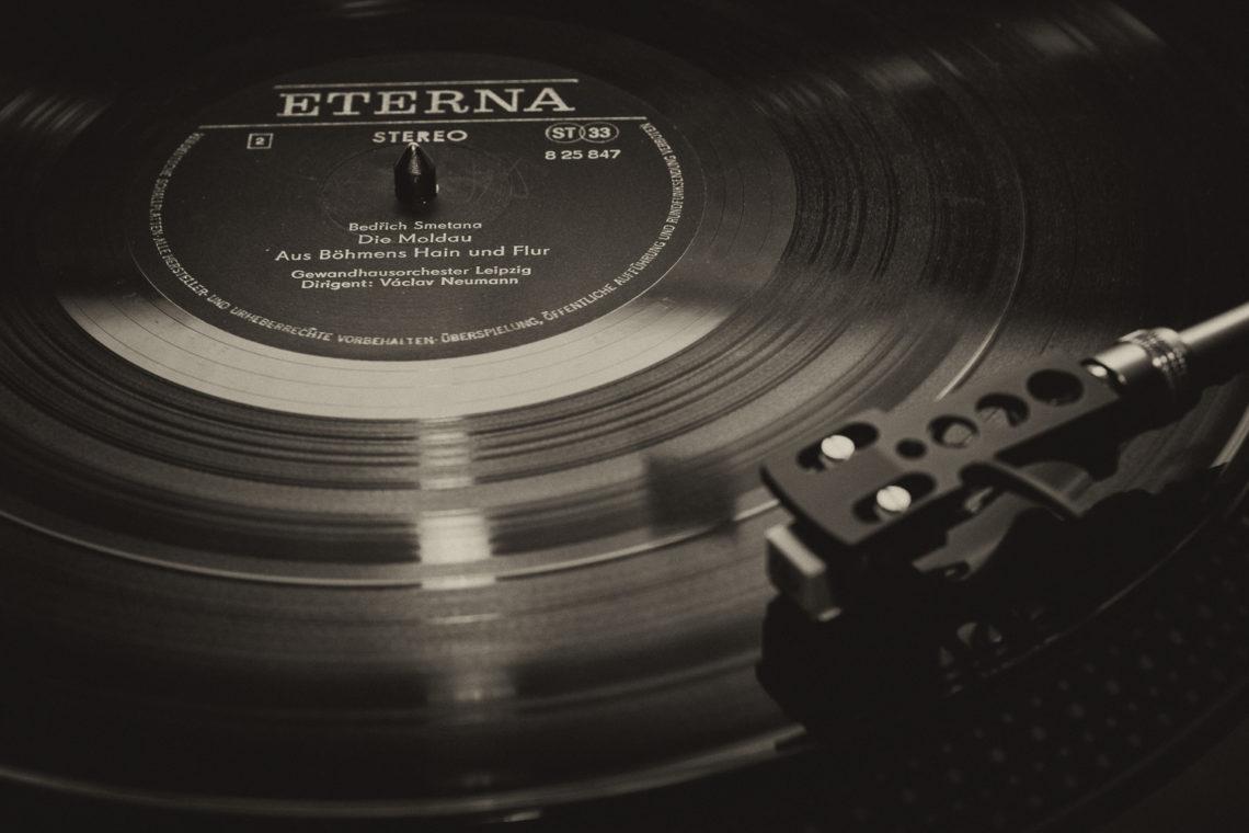 Das klingt ja Vinyl