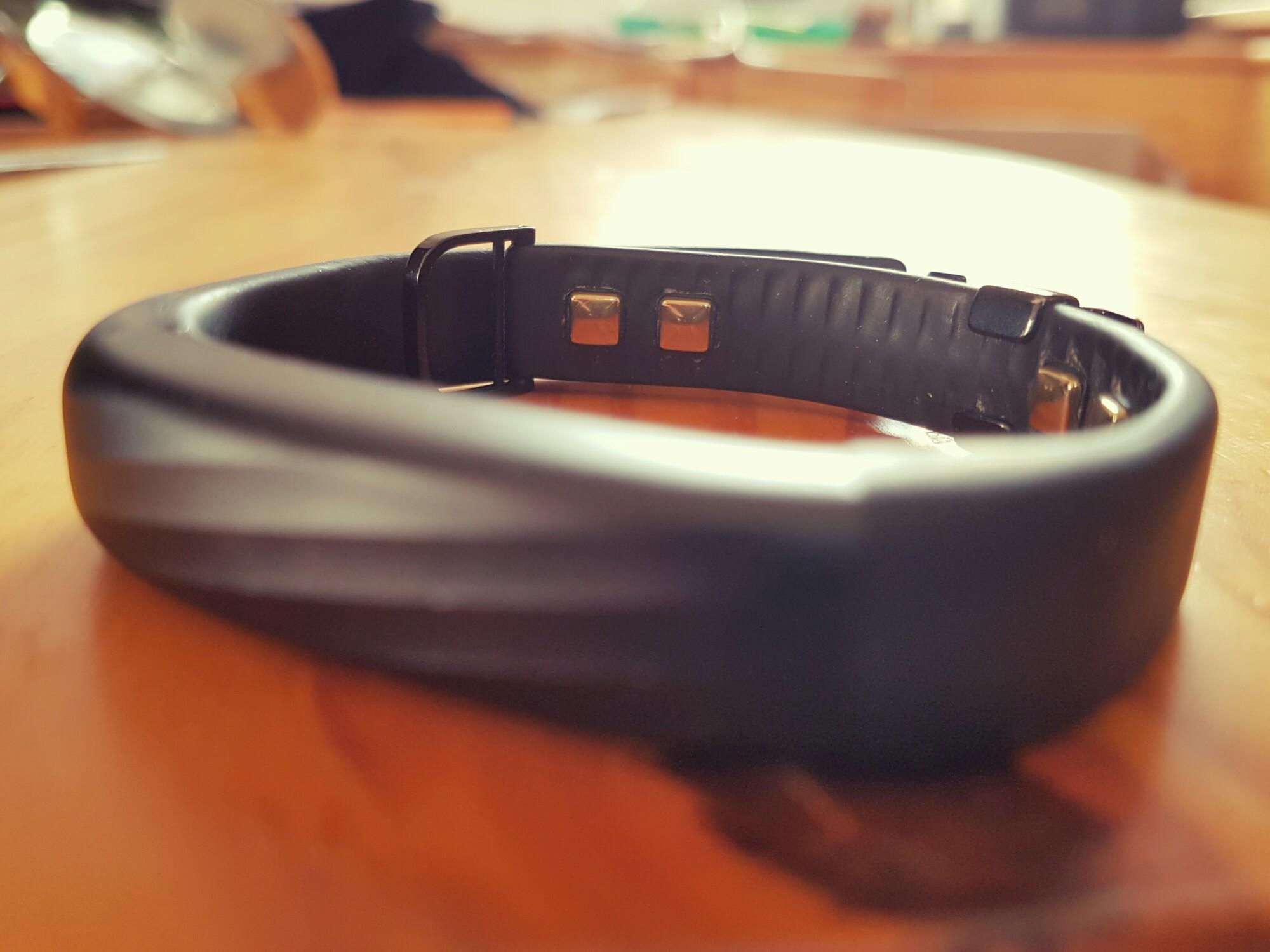 Auch im Armband sind Sensoren verbaut, somit ist es nicht austauschbar