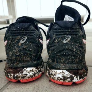 Neue Schuhe eingeweiht