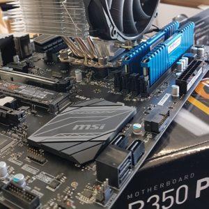 Das neue Board mit neuer CPU
